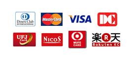 MasterCard_VISA_DC_UFJ_NicoS_楽天